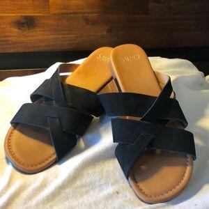 Franco Sarto Black Sandals